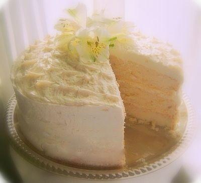 Kathy's Almond Cake & Almond Mascarpone Frosting | The Heartland