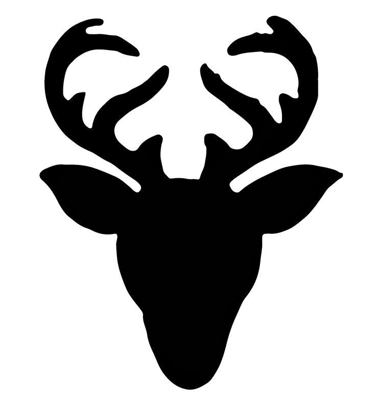 Best 25 Reindeer Silhouette Ideas On Pinterest