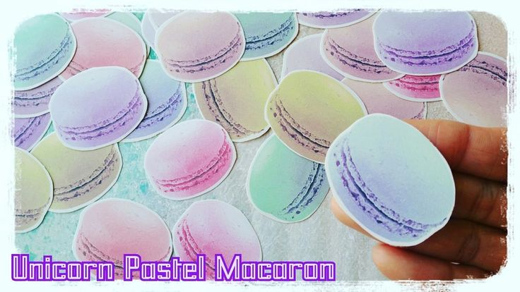 Pastel Maracon Sweet Candy planner Stickers,Rainbow Unicorn Cute Kawaii Sticker in Crafts, Scrapbooking & Paper Crafts, Scrapbooking | eBay!