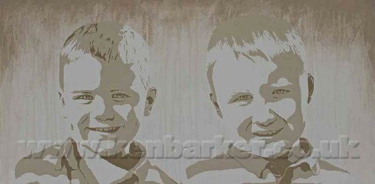 Painted portrait commissions by Ken Barker