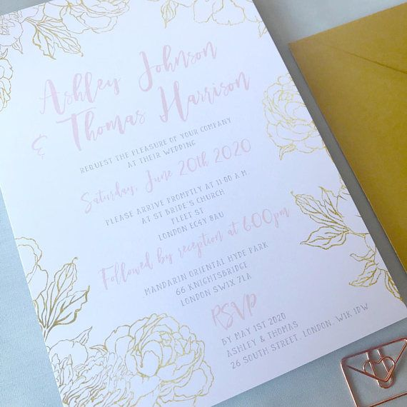 62 best blooms print wedding invitations stationery ideas