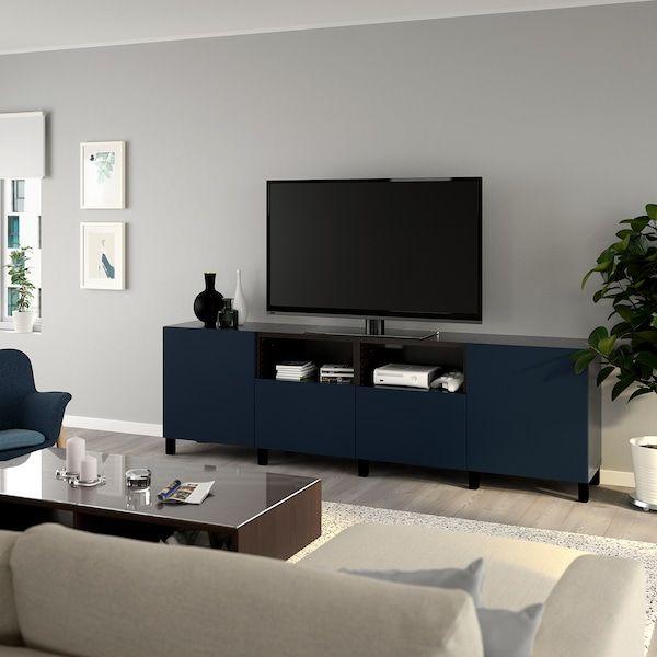 notviken stubbarp bleu ikea banc tv