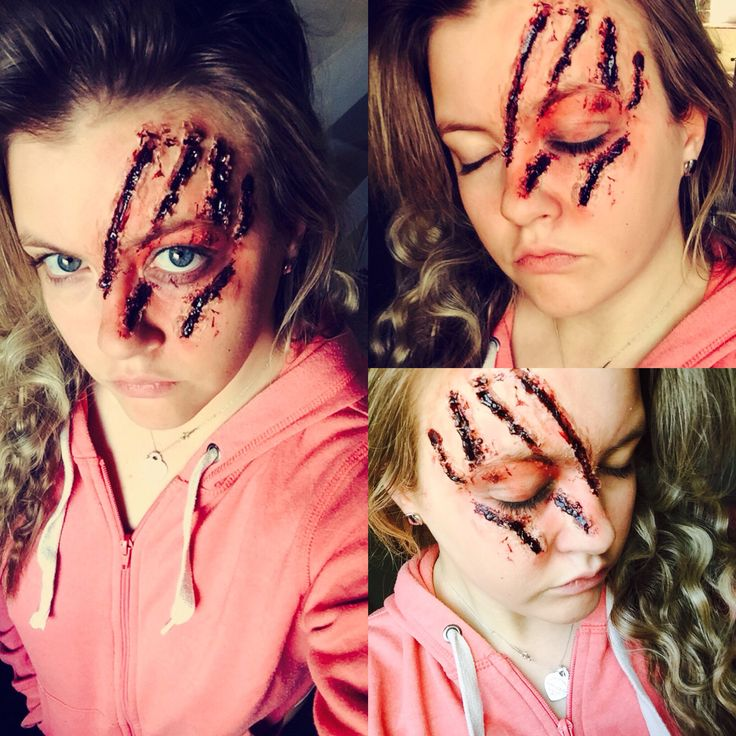 Wolf scratches Sfx makeup