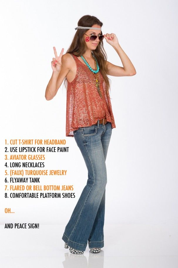 25+ Best Ideas About Hippie Costume On Pinterest | Diy Hippie Costume Pirate Hairstyles And ...