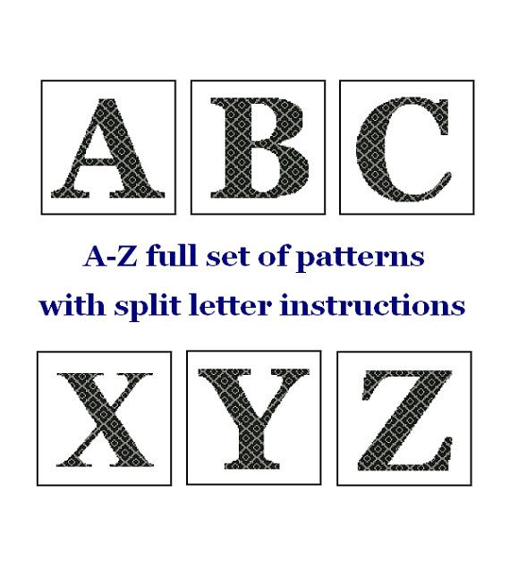 30 best Monogram/Initial Cross Stitch Patterns images on