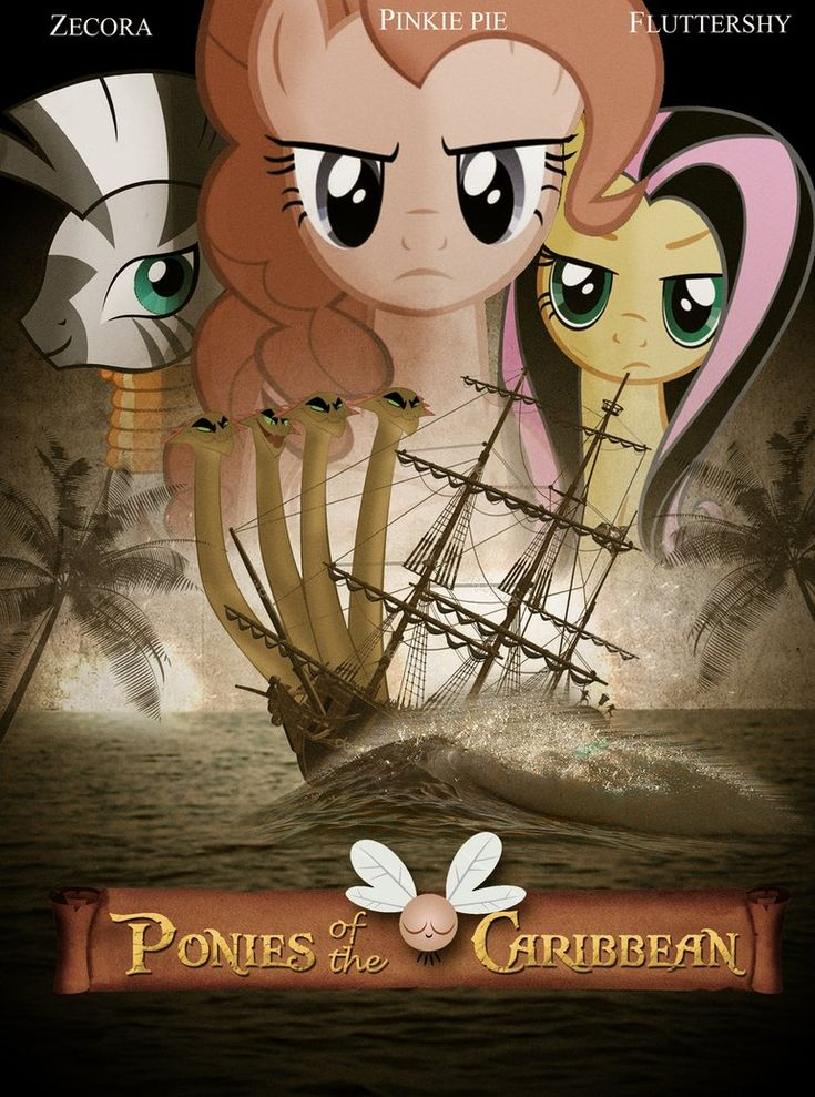 My Little Ponies / Pirates of the carribean // Ponies of the Caribbean: Upon Stranger Hooves