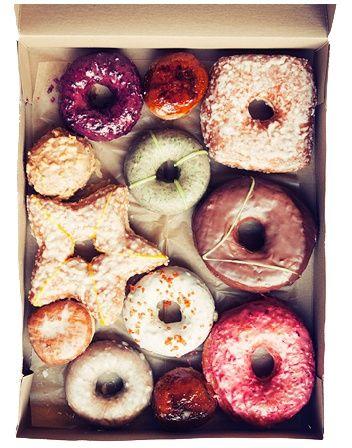Twinkle, twinkle little star donut