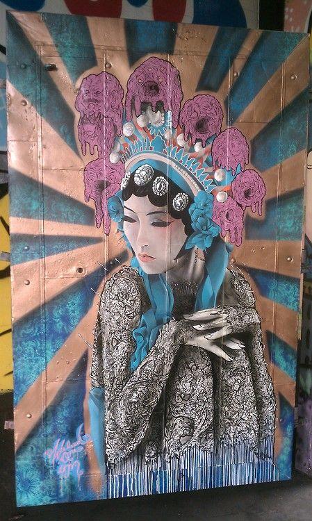 street art: berkeley - 4th street (special delivery)