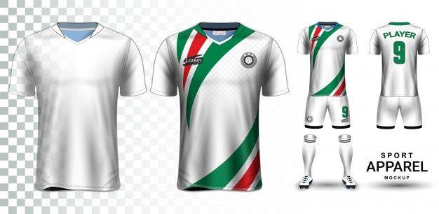 Download Soccer Jersey Sport Shirt Or Football Kit Uniform Presentation Soccer Jersey Football Kits Sports Shirts