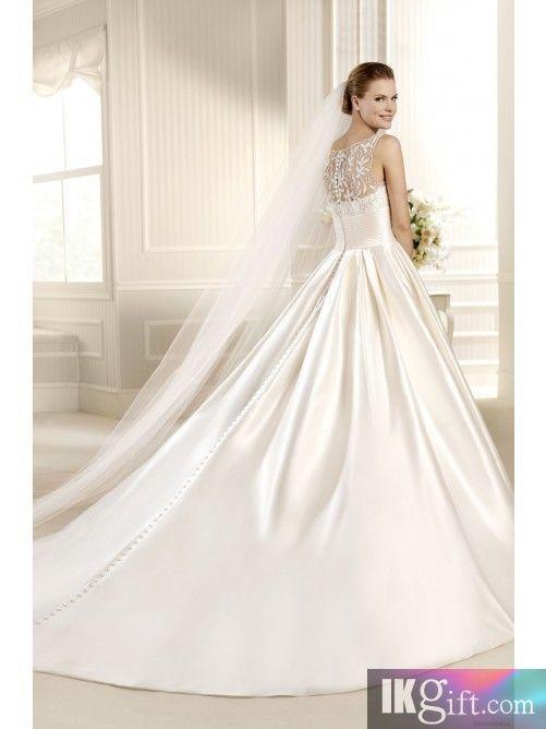 Clic Satin Wedding Gowns Gallery