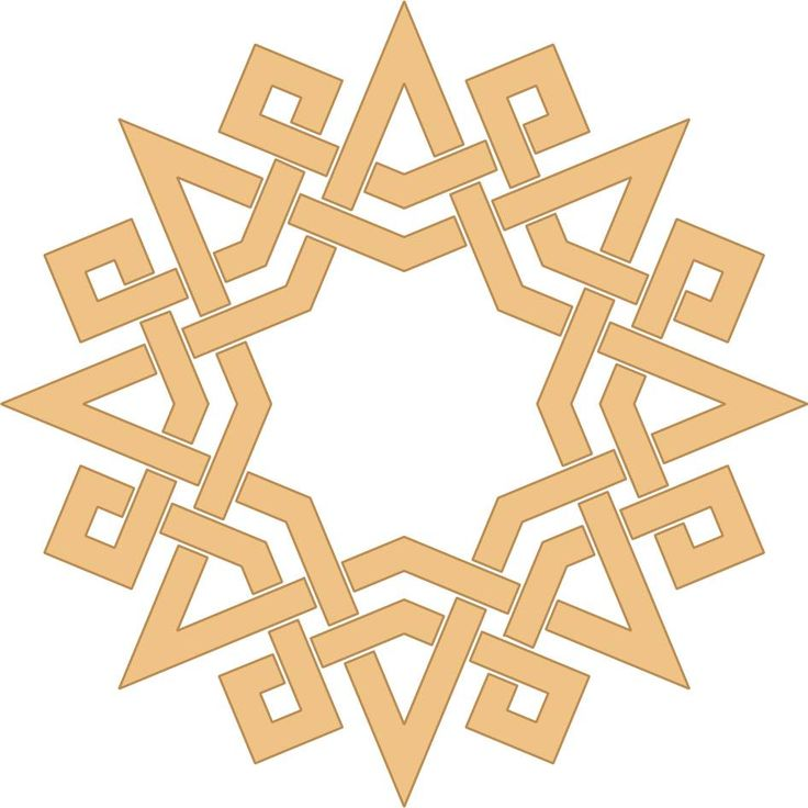 A composition I made inspired by a Tunisian pattern Islamic geometric design