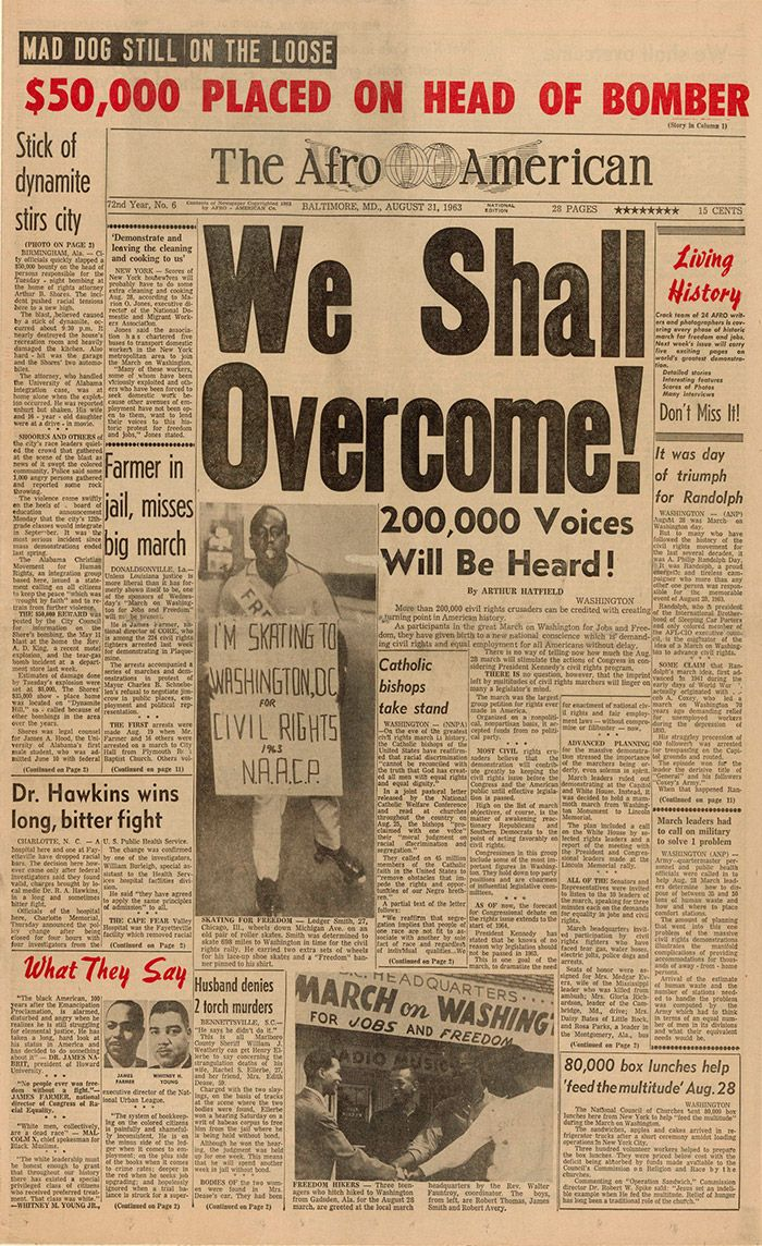 african american news articles Learn about African American history with these old magazine articles.