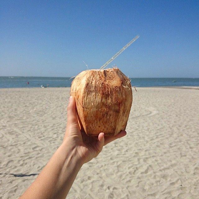 Coco Agua  #santamarta #Colombia #playa #vacations #lasvacacionesdejuanyana #vsco  (в Playa Caribe, Santa Marta)
