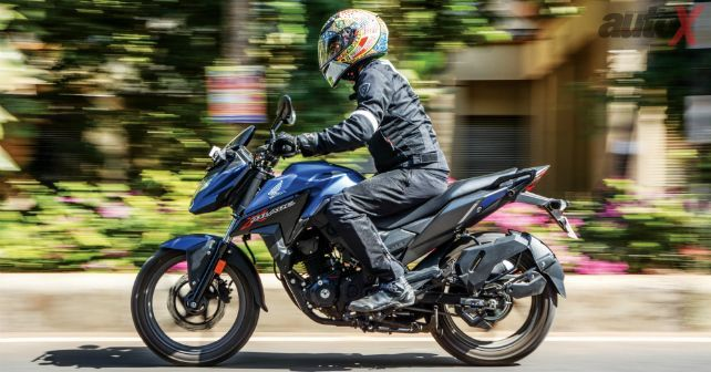 Honda X Blade Review First Ride Honda Bike Reviews Cb Unicorn