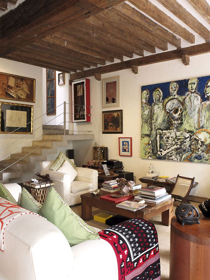 Libro interiores decoracion arquitectura living mexico - Libros decoracion de interiores ...