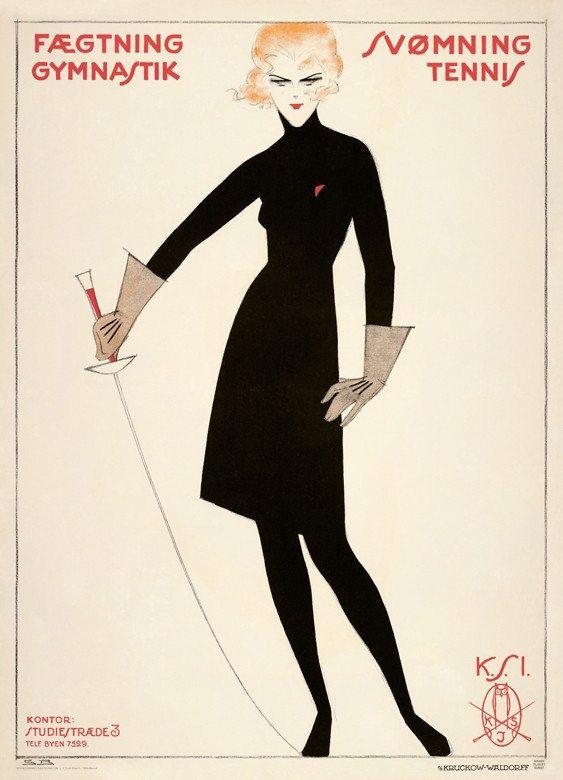Fencing, gymnastic, swimming, tennis Female Students' Association (1919) Autor : Sven Brasch