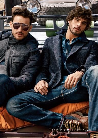 Wilhelmina Models: Marlon Teixeira is once again part of Tommy Hilfiger's Fall/Winter 2014 campaign. Credits: Photography by Craig McDean and Styling by Karl Templer. - See more at: wilhelminanews.com