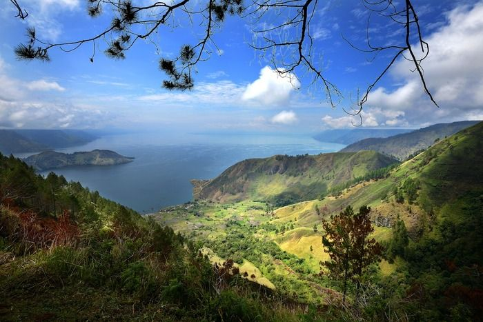 View from Simalem Resort – This is a photo taken by Than Tun Oo, the winner of the Best Overall category.