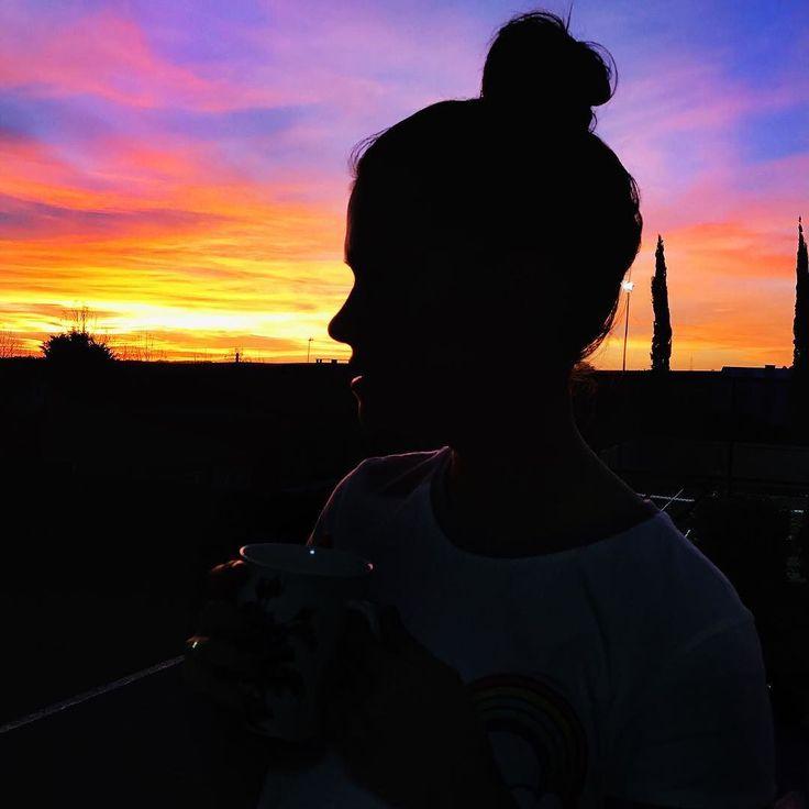Olha como o céu tá lindo: CORREEEE TIRAR UMA FOTO!