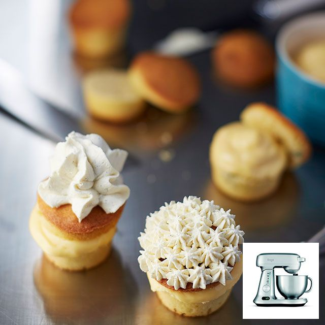 Lemon Thyme cakes by @thehestonteam made with @sageappliances Scraper Mixer Pro