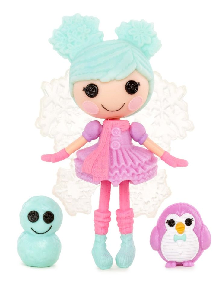 Amazon.com: Mini Lalaloopsy Doll- Sweater Snowstorm: Toys & Games