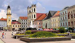 Slovakia - Banská Bystrica - an old German mining town, home of several universities, and business hub of central Slovakia.  Wonderful Central Square