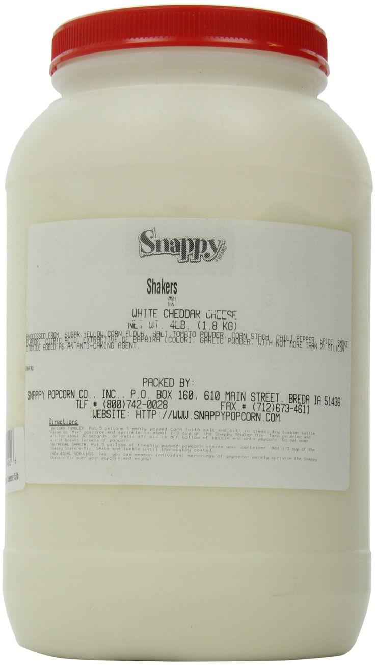Snappy Popcorn Snappy Popcorn White Cheddar Shaker, 4 Pound