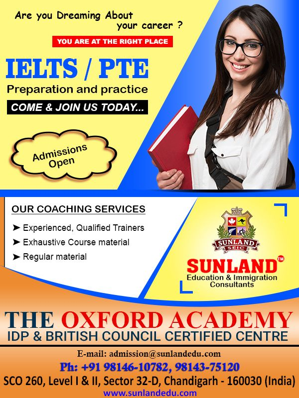 Get The Best Ielts Coaching Centre In Chandigarh Sunlandedu Exclusive Tips And Tricks To Score 7 Bands Thousands Of Su Ielts Coaching Educational Consultant