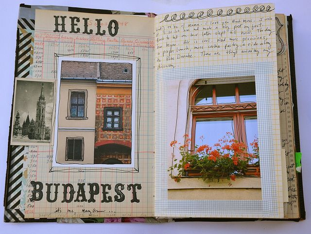 Create an awesome travel journal with these ideas #scrapbooking #traveljournal  Image via: https://www.flickr.com/photos/dispatchfromla/sets/72157628391925751#