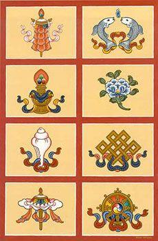 Symboles bouddhiste                                                                                                                                                                                 Plus