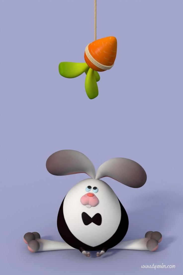 Rabbit by Yinxuan LI Dezarmenien (Modo): Generation Cartoon, 3D Character, Li Dezarmenien, Dezarmenien Modo, Dezarmenien Art, Cg Illustrations, Cartoon Rabbit, 3D Illustrations, Cartoon Illustrations