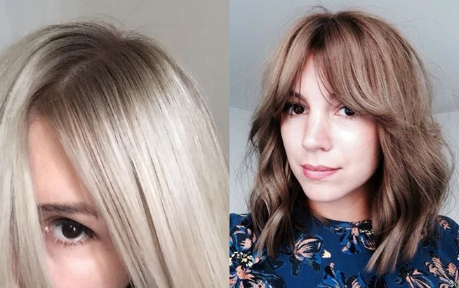 die besten 25 von braun zu blond ideen auf pinterest blond braun blond braune str hnen und. Black Bedroom Furniture Sets. Home Design Ideas