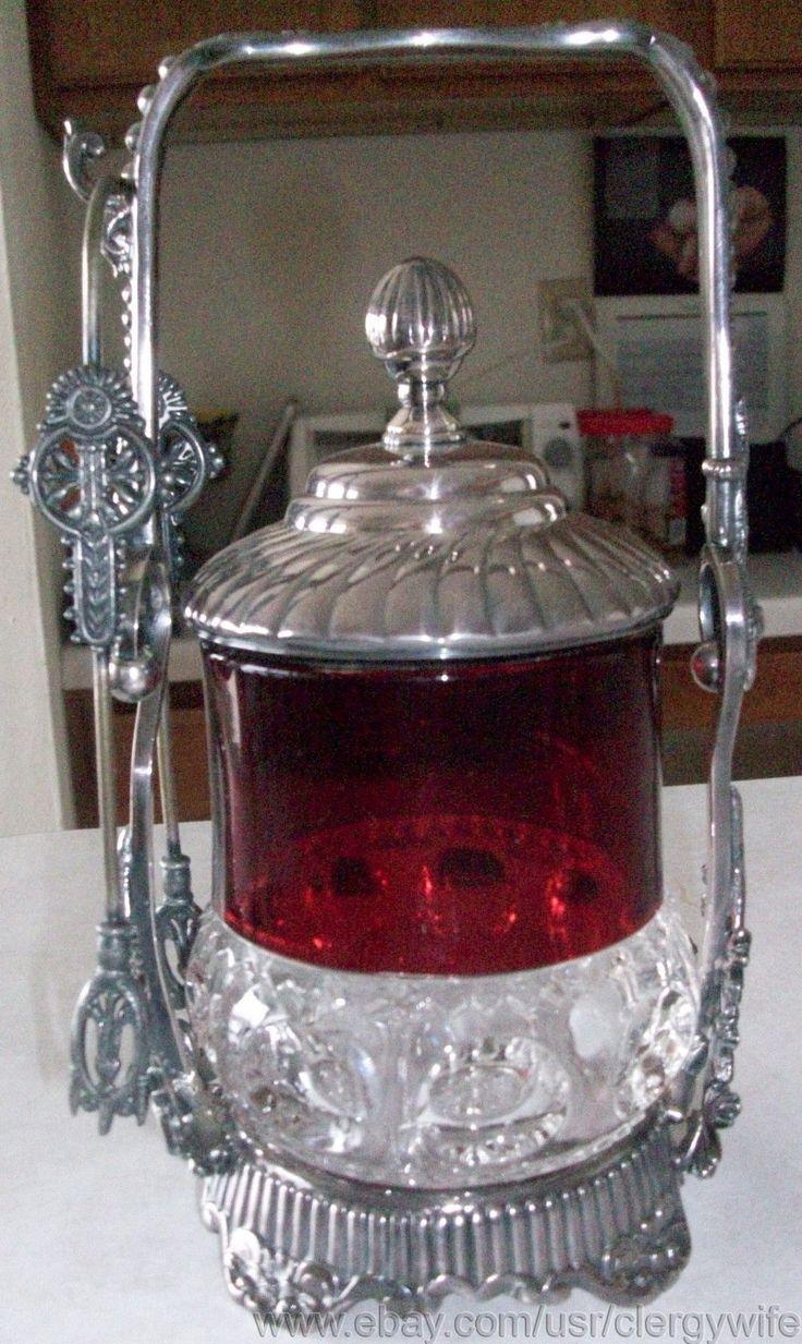 Kings Crown Glass - U.S. Glass Co. - Pickle Castor