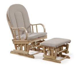 Relaxačné kreslo (s taburetkou) - Artium  Masívne drevené pohupovacie kreslo v prírodnom prevedení oceníte nielen vy, ale určite i každá Vaša návšteva.