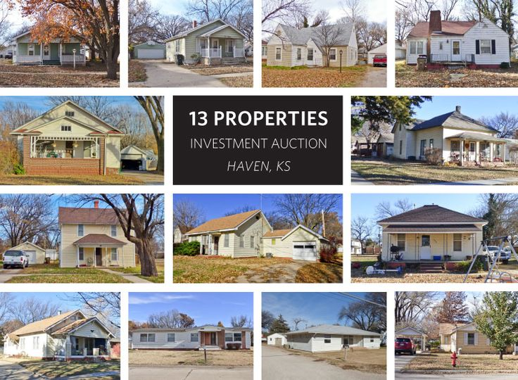 (haven) 13 Property Investment Auction - Online Bidding Available - McCurdy Auction | Real Estate Specialists