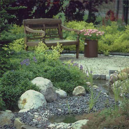 más de 25 ideas increíbles sobre jardín con piedras en pinterest