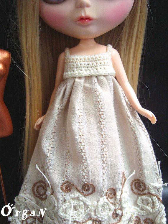OOAK Vanilla LuxE  Dress by organ111 on Etsy, $25.00