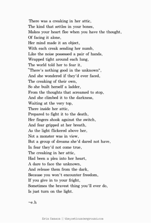The Attic.  #poem #poetry #inspirational