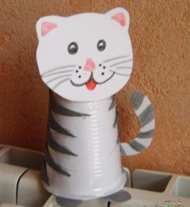 paper-cup-cat-craft-idea-for-kids
