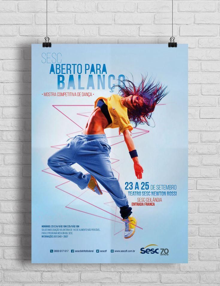 """Confira meu projeto do @Behance: """"Mostra de Dança Competitiva"""" https://www.behance.net/gallery/46589013/Mostra-de-Danca-Competitiva"""