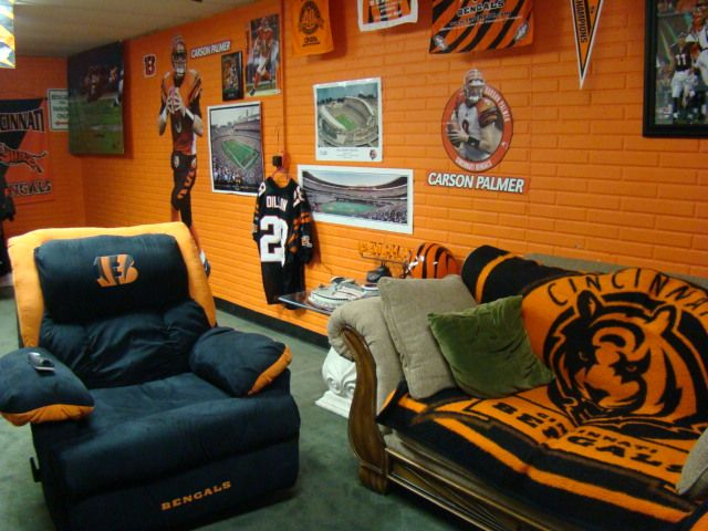 Man Cave Accessories Sydney : Bengals theme rooms cincinnati message boards