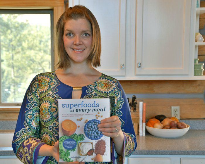Kelly Pfeiffer, autorka knihy SUPERPOTRAVINY DO VŠECH JÍDEL