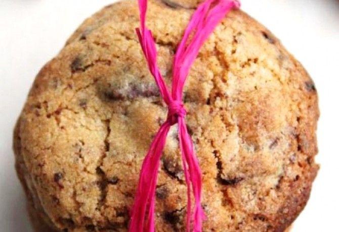 Ropogós csokis keksz csokidarabkákkal