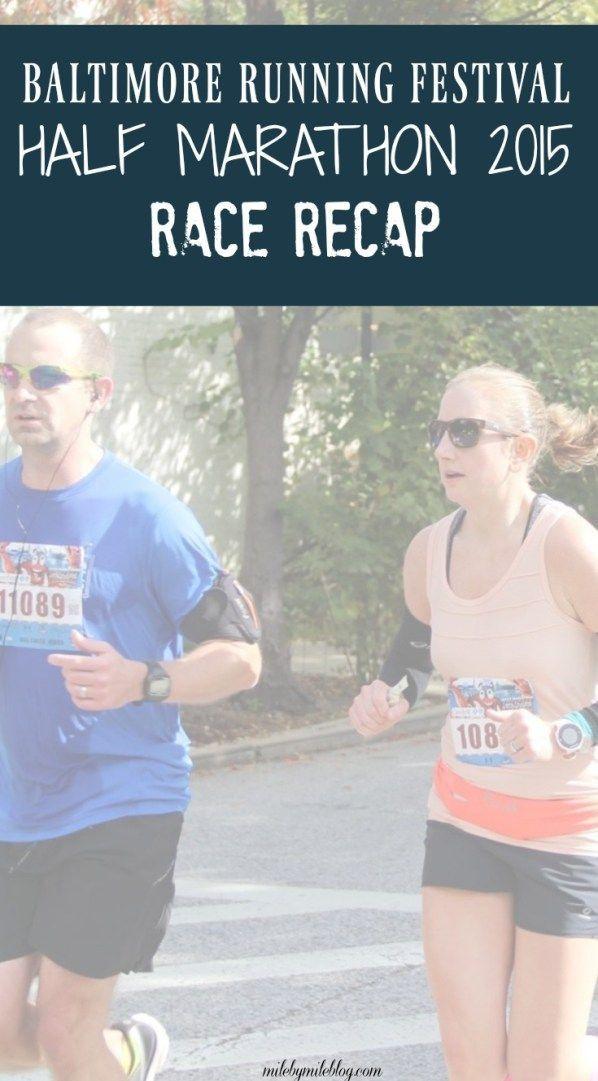 Race Recap for the Baltimore Running Festival 2015 Half Marathon