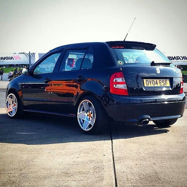 Fabia Vrs on 3SDM wheels
