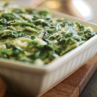 Holiday Creamed Spinach #HEBHolidayMeal