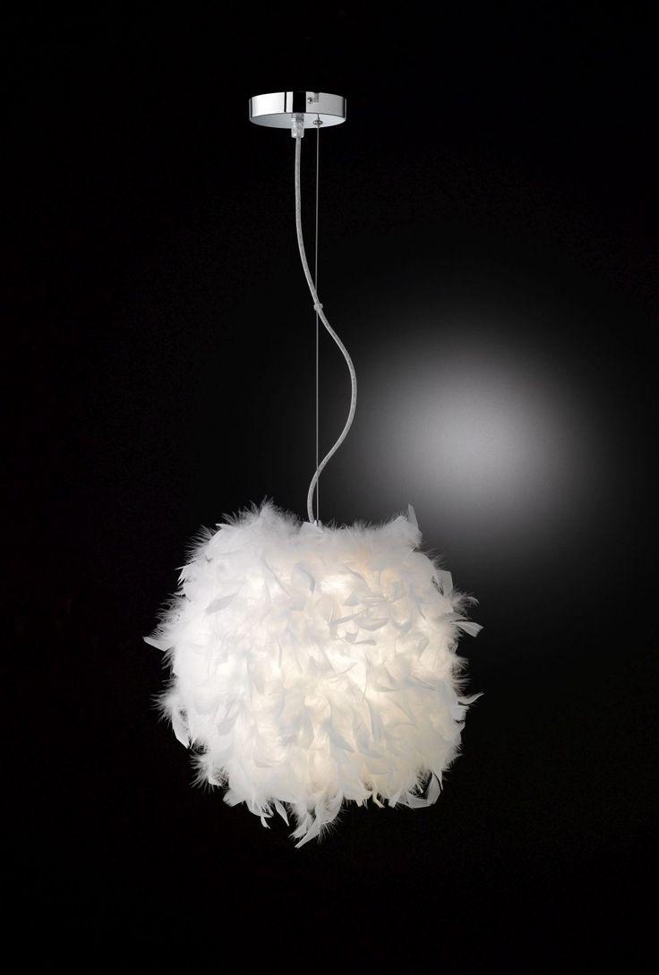WOW, wir haben uns total in diese traumhafte Deckenlampe verliebt 😍  Die Pendlleuchte von Wofi ist ein Traum für jedes Schlafzimmer oder Kinderzimmer. Mit dem Lampenschirm aus Federn werden sanfte Lichteffekte gezaubert und das Licht kommt wie durch eine Wolke in den Raum. Wer eine Wolke im Kinderzimmer zaubern will, sollte diese Lampe auf dem Schirm haben :) Die Pendelleuchte Ariana  von WOFI findest Du bei markenbaumarkt24.de oder Du klickst einfach hier auf den Pin und entdeckst den…