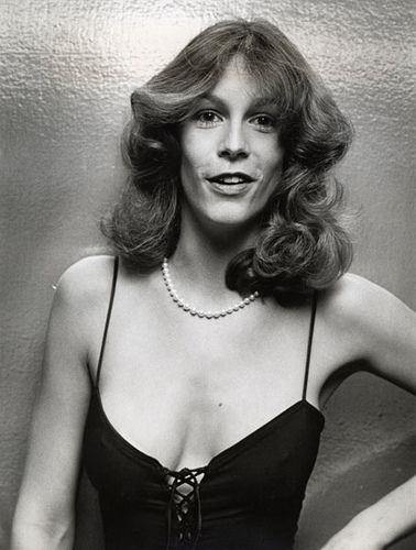 """Jamie Lee Curtis, actress, author, photographer & daughter of Tony Curtis & Janet Leigh. She earned the nickname of """"Scream Queen"""" in the 80's."""