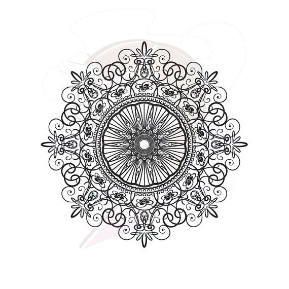Doily Doilies Doyley Lace Pattern Graphic DIY by MayPLDigitalArt, $5.90