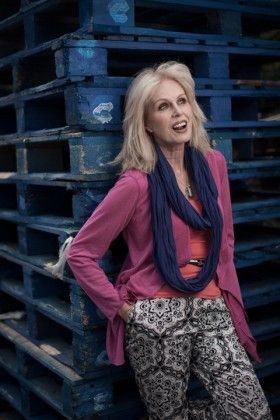 Joanna Lumley- assertive and charitable